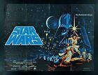 STAR WARS ? BRITISH QUAD CineMasterpieces ORIGINAL MOVIE POSTER 1977 HILDEBRANDT
