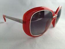 CHANEL Sunglasses 100% Authentic 6045 Transparent Orange / Titanium *NEW*