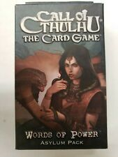 CALL OF CTHULHU THE CARD GAME ASYLUM WORDS OF POWER