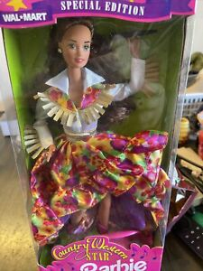 Country Western Star Barbie - Wal-mart - Special Edition - 1994 Mattel - New