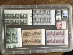 Vatican Stamps unchecked collection UMM (ZZ236)