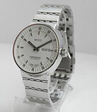 MIDO M8340.4.B1.1 ALL DIAL Gent Automatic watch Chronometer bracelet white