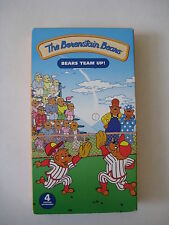 The Berenstain Bears Team Up VHS MOVIE set Fly It Mamas New Job Out for the Team
