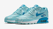 Nike Air Max 90 Premium Mesh (GS) Shoes 724875 400 Women's SZ 8 = SZ 6.5Y Blues