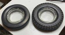 Lot of 2 Vintage Tire Ashtrays - Good Year & Pennsylvania