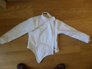 """Leon Paul Fencing Jacket Size 102cm/40"""" (Lot F) ."""