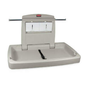 RUBBERMAID COMMERCIAL PRODUCTS FG781888LPLAT Changing Station,Horizontal,21 x 33