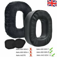 More details for uk left+right ear pads replacement cushions for astro a40/a50 gen1 gen2 headset