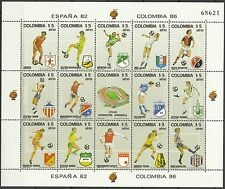 Colombie Colombia Coupe du Monde Football Fifa World Cup Soccer Fußball ** 1982