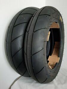 """PMT 12"""" R Intermediate Cut Slick Tyres 100/90/12 & 120/80/12 pit bike"""