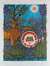 Preservation Hall Jazz Band Poster The Gorge Signed Numbered Silkscreen