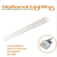 LED Batten T8 Size 4ft/5ft/6ft Commercial Light Office Corridor Energy Saving