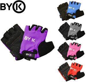 BYK Kids Short Finger Cycling Gloves - Sizes S/M, M/L