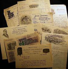 1908 - 1923 SCRANTON PA JEWELRY ENGEL & SON SALES BUSINESS HISTORY LETTERS BILLS