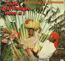 """AL LIRVAT """"BELLE MARTINIQUE NOUS A !"""" BIGUINE CALYPSO LP DEESSE 186"""
