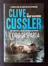 Clive Cussler e Grant Blackwood, L'oro di Sparta, Ed. Longanesi, 2011