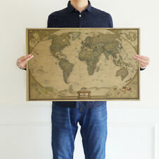 72x48cm vintage retro world map antique paper poster wall sticker item 3 retro vintage old world map antique paper poster wall chart home decor 28 x18 gumiabroncs Images