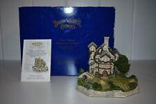 David Winter Cottages Golf Clubhouse 1995 Box Coa *See Description*