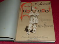 PARTITION 19e PIANO CHANT R. LEONCAVALLO / PAGLIACCI SG 654 204pp. 1893 OPERA