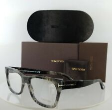 4c73a70cbf0 Brand New Authentic Tom Ford Eyeglasses FT TF 5468 056 53mm Grey Charcoal