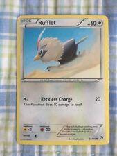 Pokémon card Rufflet basic 92/114 2016