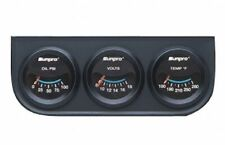 Sunpro 2 Mechanical Triple Gauge Kit Black Black Bezel Cp7994 Authorized Dist