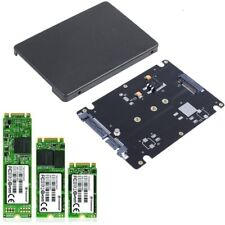 "M.2 NGFF SSD to 2.5"" SATA 3 Adapter Card Hard Disk Case Enclosure Converter UK"