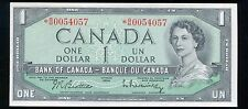 BC-37bA-i 1954 $1 ONE DOLLAR *REPLACEMENT* BANK OF CANADA GEM UNCIRCULATED