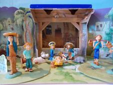 KINDER PRESEPE 1999 presepio ovetti statuine figuranti diorama sorpresine natale