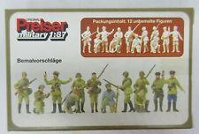 1/87 USSR Partisants, Infantry Men - PREISER 16530