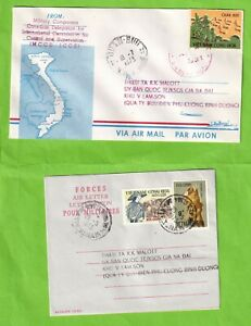 EEE1936 Vietnam 2  1973 covers; one at least  from Canadian Control. Quan Buu...
