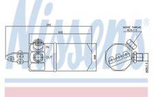 NISSENS Filtro deshidratante, aire acondicionado VOLKSWAGEN PASSAT AUDI A4 95194