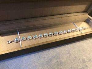 Natural Ethiopian Fire Opal Bracelet Genuine Opal Jewelry