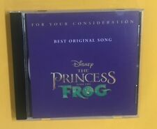RANDY NEWMAN THE PRINCESS AND THE FROG 09 PROMO FOR YOUR CONSIDERATION CD SINGLE