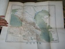 1881 NOUVELLE GEOGRAPHIE UNIVERSELLE VOL VI L'ASIE RUSSE ASIA RUSSIA 8 COL MAPS*