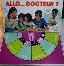 Jeu de société Allo... Docteur ? Serez vous faire le bon diagnostic de l'enfant