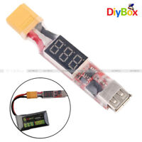 2S-6S Lipo Battery XT60 Plug to USB 5V 2A Charger Converter Adapter for Phone PC