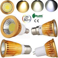 9 W 15 W COB LED Spotlight Bombilla MR16 GU10 GU5.3 E27 E14 B22 Luz Ultra Brillante