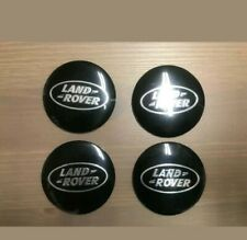 Set of 4 pcs Land Rover logo sticker 56mm for Wheel Covers Hub caps easy to fit