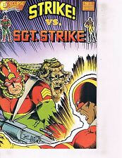 Lot Of 2 Comic Books Eclipse Strike vs Sgt. Strike #1 and Storm Watcher #1 ON7
