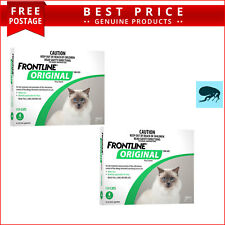 Frontline Original GREEN for Cats and Kittens 8 Doses (4 Pack X 2) by Merial