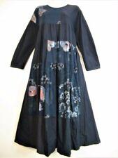 Vestiti da donna blu a righe in cotone