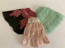 Bratz Girlz Girl Kidz Kid Doll 3 Different Skirts Lot
