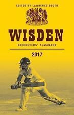 Wisden Cricketers' Almanack 2017 by Bloomsbury Publishing PLC (Hardback, 2017)