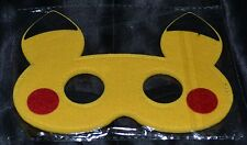 Pikachu Pika Halloween Masks Costumes Boys Kids Girls Pokemon Trainer Master
