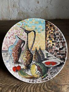 "Large Mid Century San Marino Ceramic Centrepiece ""BERTO 1959"" ""TITANO R S M"""