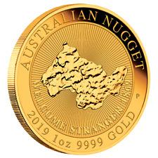 Australien - 100 Dollar 2019 - Australian Nugget - Anlagemünze - 1 Oz Gold ST
