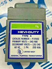 Sola Hevi-Duty P1FB50 Pri. 240/480 Sec. 120/240 Power Transformer  D5
