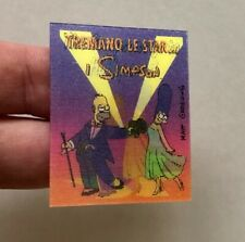 Scarce! 1998 THE SIMPSONS promotional ANIMATED CARD - Homer Marge Simpson NEW