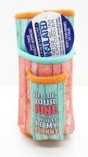 Ninc June Design Cigarette Pack Pouch/Lighter Holder 12 Oz Slim Can Cooler
